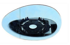 Spiegelglas Außenspiegel Links Heizbar Asphärisch Blau ALFA ROMEO 156