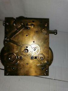 Pfeilkreuz - Uhrwerk - Wanduhr - alt und gebraucht - Regulator - Werk ist ok.