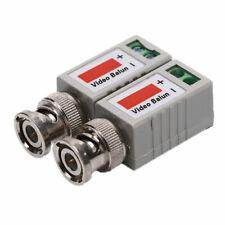 2PCSx BNC Video Passive Balun to UTP Connector CCTV camera Transceiver YT