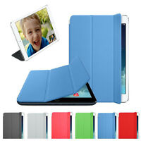 Slim Leather Smart Cover Sleep Wake Case For iPad mini Retina 2 Hot Sell