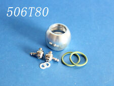RC Boat Silver Aluminum Water Jacket for Roundness head 22.5mm  506T80