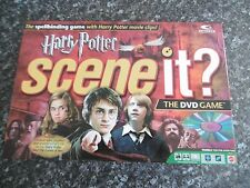 HARRY POTTER SCENE IT?- DVD BOARD GAME - COMPLETE - 2+ PLAYERS - AGE 8- ADULT