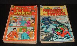 LQQK 19 vintage 1960s/70s ARCHIE SERIES COMICS, low grade, 12 &15 cent
