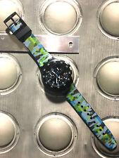 "Swatch REFURBISHED CHRONO PLASTIC ""URBAN JUNGLE"" SUSB 403"