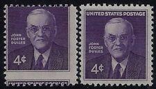 "1172 - 4c Scarce Misperf Error / EFO ""John Foster Dulles"" MNH"