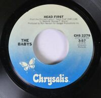 Rock 45 The Baby'S - Head First / Every Time I Think Of You On Chrysalis