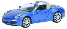 Schuco Edición 1:87 452616500 Porsche 911 Targa 4S Blaumetalic Ho Nuevo