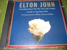 Original ELTON JOHN Candle In The Wind 1997 Single CD 201