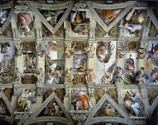 WENTWORTH WOODEN JIGSAW PUZZLE - PARTIAL VIEW CEILING SISTINE CHAPEL 250 PIECES