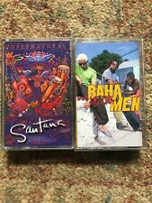 Baha Men Who Let The Dogs Out And Santana Supernatural Cassette Tapes