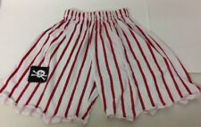 ELC Early Learning Centre Pirate Dress Up Shorts One Size White Red Up to 116cm