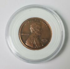 1976 Rare Lincoln Penny - double die reverse errors Collectible Coin