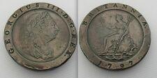 Da collezione 1797 2nd emettere RAME SOHO Nuovo di zecca MEDAGLIA due Pence di Giorgio III