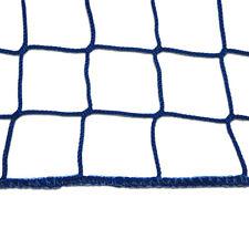 Seitenschutznetz 2x10m blau Dachdeckerfangnetz Fangnetz Anhängernetz