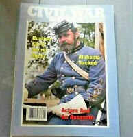 Magazine Civil War Times Feb 1986 Hunting for a Secret Agent Alabama Sacked