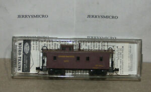 KADEE MICRO TRAINS LINE N SCALE 34' WOOD SHEATHED CABOOSE UNION PACIFIC #3270