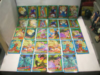 carte-card dbz dragon ball z carddass power level le grand combat prism bandai