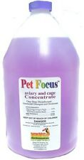 Pet Focus Aviary and Cage Cleaner - 1 Gallon (concentrate)