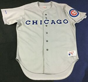 Vintage Chicago Cubs Baseball Rawlings Jersey Size46