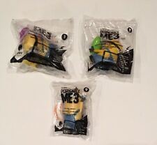 Set Of 3 McDonald's 2017 DESPICABLE ME 3 Happy Meal Toys MINIONS #1 #2 #9 New