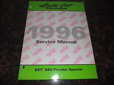 1996 ARCTIC CAT EXT 580 POWDER SPECIAL SNOWMOBILE SERVICE SHOP REPAIR MANUAL
