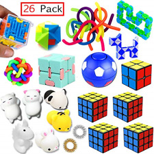 Sensory Toys Set 26 Pack Stress Relief Fidget Hand Toys for Adults and Kids