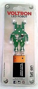 VOLTRON LED ROBOT by Bitten collectible NEW FACTORY SEALED FREE SHIP TRACK US