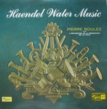 WATER MUSIC - L'ORCHESTRE DE LA RESIDENCE DE LA HAYE  - PIERRE BOULEZ  - LP