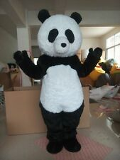 Hot Chine Panda Bear Mascot Costume Fancy Dress Adult Party Outfit High Quality