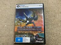 Supreme Commander Forged Alliance for PC DVD Game