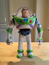 TOY STORY Talking Buzz Lightyear Toy with Laser Sounds, Hasbro 2001, Used.