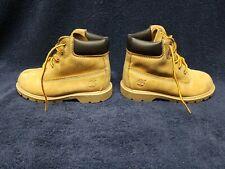 Timberland Premium Waterproof Wheat Nubuck Boots 10860 Toddler Size 9