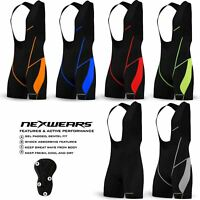 Mens Cycling Bib Shorts Bicycle Road Bike Coolmax Pad MTB Mountain Bike Clothing