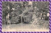 Carte Postale - Troyes - Jardin du Rocher - la pièce d'eau