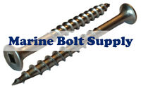 #8 Stainless Steel Deck Screws Square Drive (Select Length in Listing)