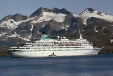 MS Albatros on Trip to Greenland and Iceland, Cruise Ship --- Postcard Postkarte
