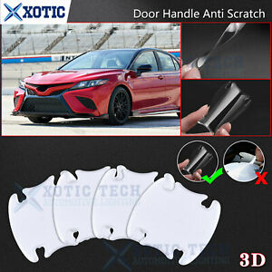 JDM 3D Paint Protector Door Handle Guard Thick Decal Sticker For Toyota Camry