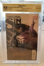 Original Sin #4 CBCS 9.8 SS not CGC 1:50 Gabriele Dell'Otto Witnessed Signature!