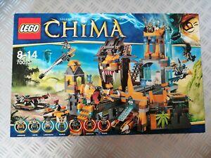 Lego Chima 70010 - Temple de la Tribu Lion - Excellent état, complet, avec notic