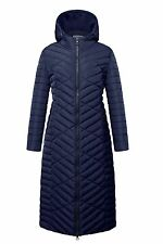Women's Full Length Winter Warm Quilted Coats Puffer Jacket Maxi Coat