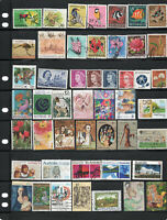 Australian stamp collection. 48 stamps.Free postage Australia. A3