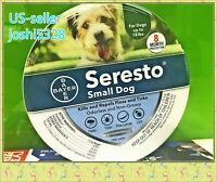 Bayer Seresto Flea and Tick Collar for Small Dogs Under 18lbs 8 Month Protection