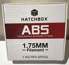 HATCHBOX ABS 3D Printer Filament, Dimensional Accuracy +/- 0.05 mm, 1 kg Spool
