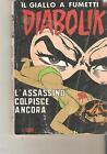 DIABOLIK - L'ASSASSINO COLPISCE ANCORA - N.254 - R - 23 GENNAIO 1989
