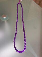 Collier  Perles D'améthystes
