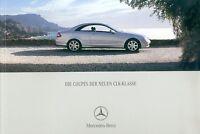 Mercedes CLK Coupe Prospekt 2003 2/03 Katalog brochure broszura broschyr catalog