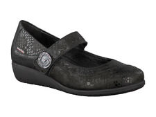 Ladies Mary Jane Style Mephisto Jessy Black Queen Shoes Size UK 8.5