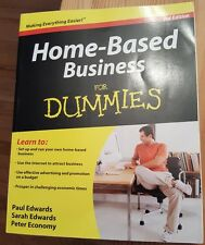 Home-Based Business for Dummies Paperback Guide How to Economics
