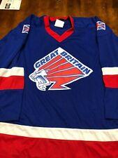 Replica Great Britain National Team Hockey Jersey Wingstar XL All Sewn