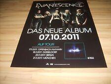 ✿ Evanescence 2011  ✿  Orginal  Concert Poster DIN A 1 = 84 x 60 cm